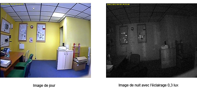 Caméra de surveillance VQ33EH-W36