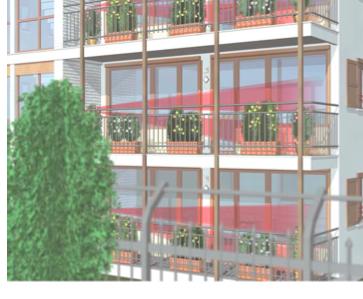 Détecteur balcon Protectoris